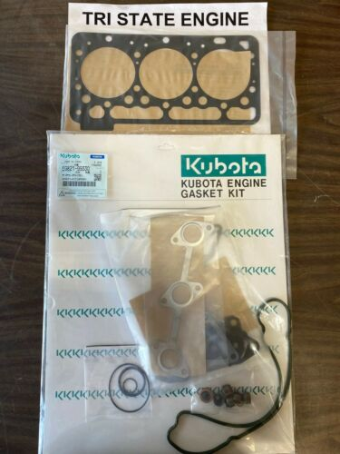 Genuine OEM Kubota Upper Gasket Set EG821-99330 For WG972 Engines