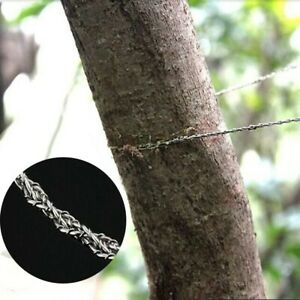 Stainless Steel Wire Saw Emergency Survival Gear Steel Wire Saw Outdoor SUP
