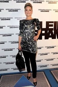 Dress L New Leila Glass Design Taglia Brand Broken Shams wzPxY88S