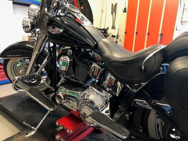 Harley-Davidson, softail deluxe, 1450 ccm