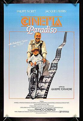 CINEMA PARADISO * CineMasterpieces ORIGINAL INTL MOVIE POSTER 1989