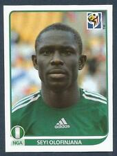 PANINI-SOUTH AFRICA 2010 WORLD CUP- #136-NIGERIA/HULL CITY-STOKE-SEYI OLOFINJANA