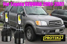 LASFIT Combo 9003 LED Headlight 9006 Fog Light for Toyota Sequoia 01-2007 6000K