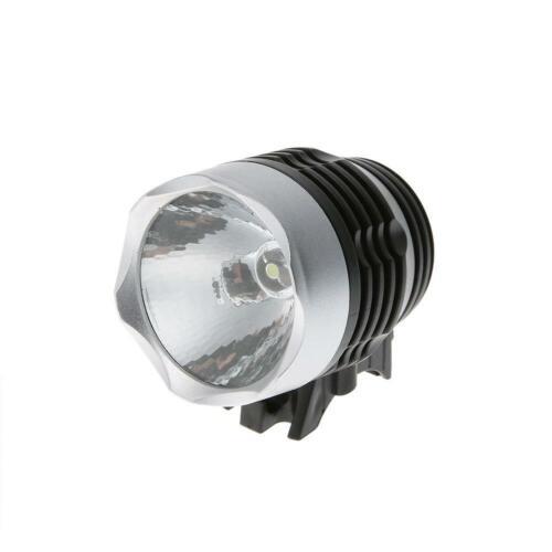LED 3 Mode Mountain Bike Lamp Bicycle Headlights Front Light Flashing Torch TN2F