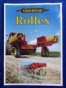 GéNéReuse 0021) Väderstad Rollex-prospectus Brochure 06.2003 Lettonie Letton-afficher Le Titre D'origine Prix ModéRé