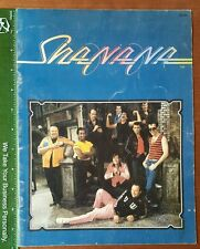 Shanana Souvenir Program Book 1979 Musicians 15 Page Grease for Peace HS