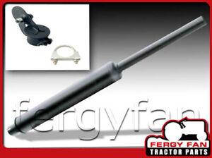 Set-Schalldaempfer-Auspuff-emailliert-fuer-Deutz-KHD-Massey-Ferguson-MF-65-155