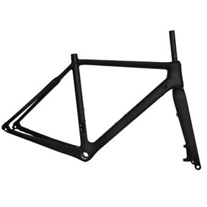 700C-Carbon-Cyclocross-CX-Gravel-Bike-Frames-Disc-Flat-Mount-Thru-Axle-BSA-BB30