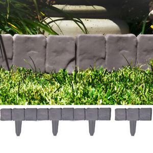 das bild wird geladen beetumrandung rasenkante beeteinfassung maehkante palisade steinoptik grau kante