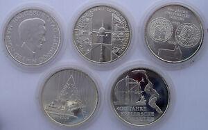 GERMANY-5x10-E-2009-SILVER-EURO-FLYGHT-BOEING-UNIVERSITY-DONHOFF-JUGENDHEBERGE