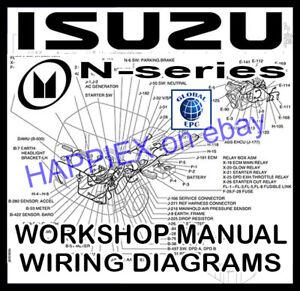 image is loading isuzu-n-series-truck-lorry-van-workshop-service-