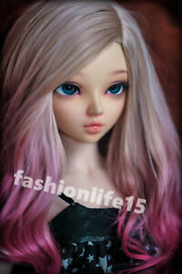 1-4-BJD-Doll-Girl-free-eyes-face-make-up-Ball-Jointed-Dolls-Resin-C