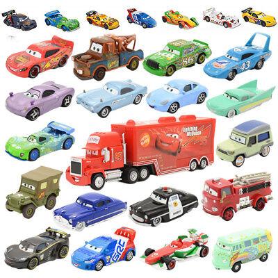 Auswahl an Cars Loose 1:55 Cars 3 Mcqueen School Bus Die Cast Singels Autos