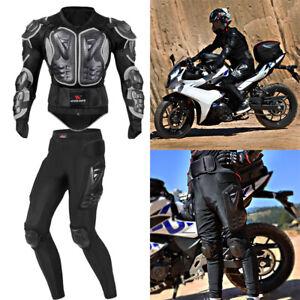 Motorrad-Protektoren-Jacke-Brustschutz-Weste-MTB-Protektor-Hose-Koerperschutz