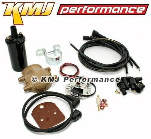 pertronix ignitor coil kit wires ford w/4-cyl front mount distributor 12v  41-42 for sale online   ebay  ebay