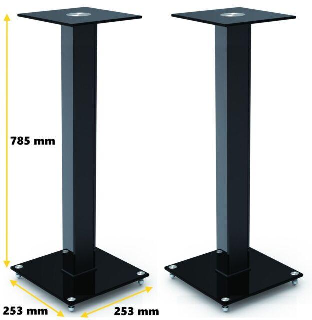 Gecko BookShelf Speaker Stand Height To 785mm Model GKS 116 BLACK