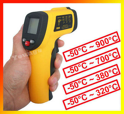 Infrared Non-Contact Thermometer Meters IR Gun GM320/GM380/550/700/GM900 WFAU