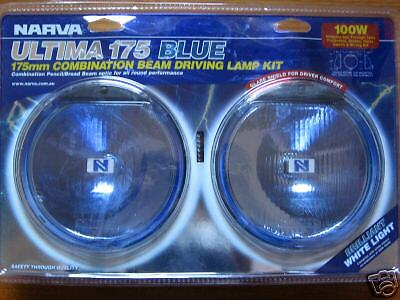 NARVA ULTIMA 175 BLUE ROUND DRIVING SPOT FLOOD LIGHTS