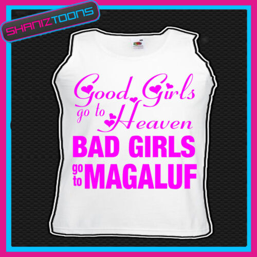 Bad Girls Go to Magaluf Hen Party Holiday Débardeur