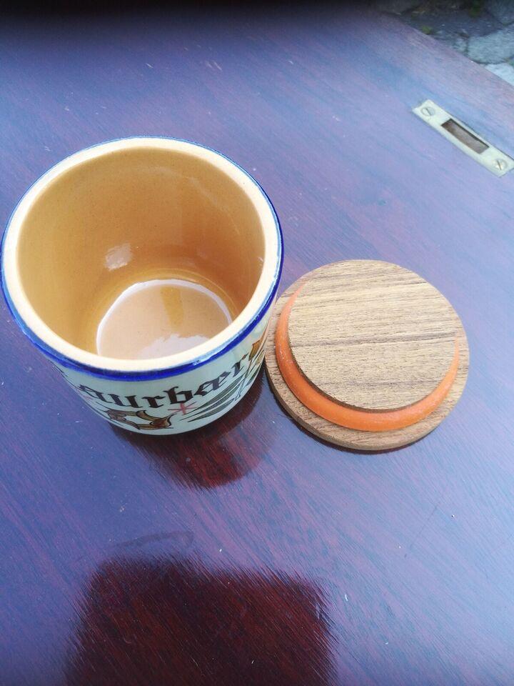 Keramik, Krydderi krukke, Knabstrup - Pernille serien
