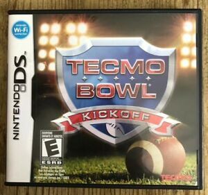 Tecmo-Bowl-Kick-Off-Nintendo-DS-Complete-W-box-amp-Manual
