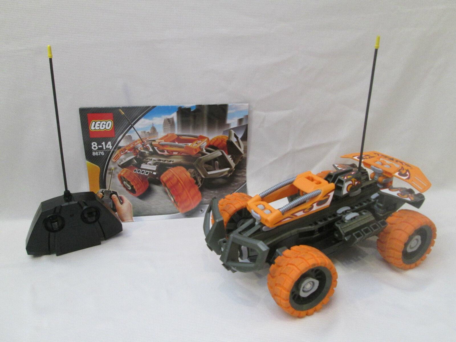 Lego Racers - 8676  Sunset Cruiser - RC Radio Control  À ne pas manquer!