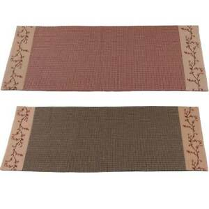 Details About Berry Vine Gingham Check 36 Inch Table Runner Barn Red Or Black
