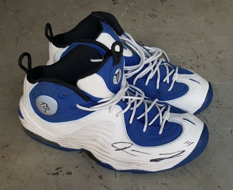 JARVIS LANDRY autographed signed NIKE Air Penny 2 Men's Size 11 shoes 333886-400