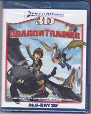 Blu-ray 3D + 2D DreamWorks **DRAGON TRAINER** nuovo 2010