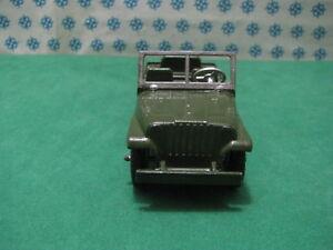 Vintage-Tootsietoy-Jeep-Army-3-4-ton-M-38-Chicago-USA-1956