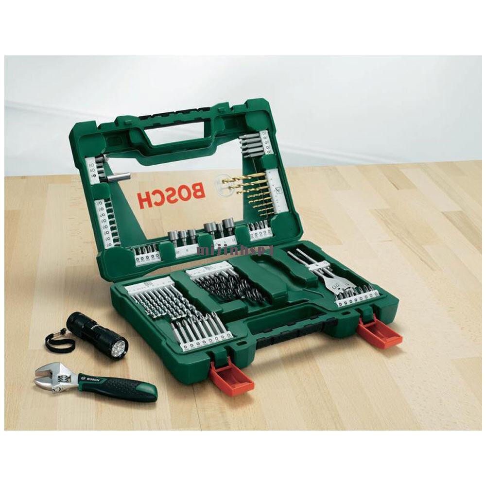 Bosch Screwdriver Bit Set V line (83pcs)2607017193 TiN Drill Bit