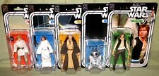 "40TH ANNIVERSARY SET Black Series 6"" Star Wars LUKE LEIA OBI-WAN R2-D2 HAN SOLO"