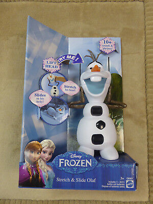 Sounds and Phrases New Disney Frozen Olaf Stretch /& Slide Toy with 10 Ages 3+