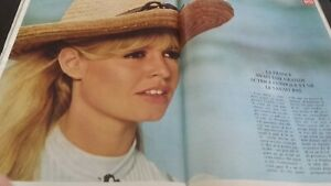 Rivista Brigitte Bardot Parigi Match N° 870 Dicembre 1965 Be