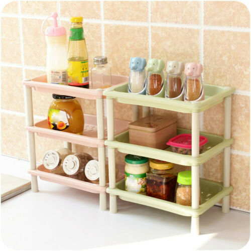 3Tier Plastic Corner Organizer Bathroom Caddy Shelf Bathroom Storage Rack Holder