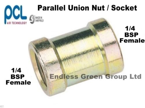 Air compressor fitting for tool /& hose     823 PCL 1//4 BSP PARALLEL Connector