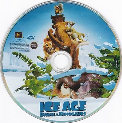 Ice Age Dawn Of The Dinosaurs 2009 Dvd Disc Only Ebay