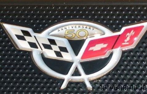 C5 Corvette 1997-2004 Door Sill Domed Logo Overlays Color Options
