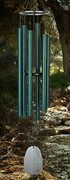 Bells Of Paradise Woodstock Wind Chime Rainforest Green Deep Sound Tone