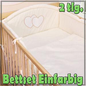 babybettw sche bettw sche decke und kissen 100x135 40x60 neu f r babybett. Black Bedroom Furniture Sets. Home Design Ideas