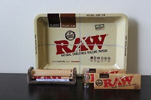 Raw-Rolling-Tray-Combo-Raw-79mm-Roller-Raw-1-1-4-Size-Rolling-Papers-Roor-Tip