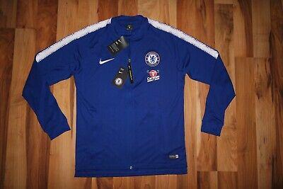 Nike CHELSEA Squad Track Men/'s Jacket 18//19 Soccer Football Blue 919965 496