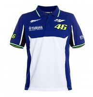 Official 2016 Yamaha Vr46 Valentino Rossi Motogp Blue Men's Polo Shirt