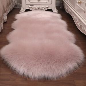 Super Soft Fake Faux Fur Pink Colour
