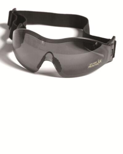 Schutzbrille Para, Einsatzbrille, Security SMOKE  -NEU-