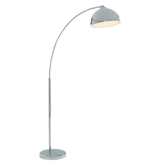 7bc3b772d2fd Giraffe Chrome Floor Lamp With Dome Shade Searchlight 914