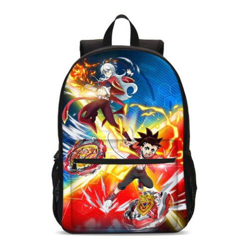 Beyblade Burst Kids Backpack Schoolbag Insulated Crossbody Bag Pen Case Lot