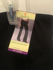 Tangerine women/'s classic relaxed pant yoga exercise lounge XL Jet Black