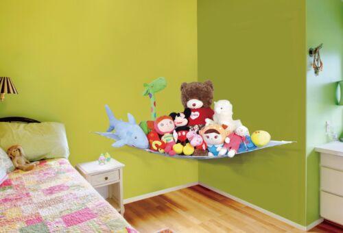 Hamaca Juguete niños Bebé Suave Peluche de gran almacenamiento Dormitorio Vivero Net Childs ordenado