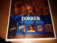 DOKKEN - ORIGINAL ALBUM SERIES 5 CD SET 2009 RHINO NEW SEALED